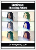 Luminous photoshop actions by ibjennyjenny