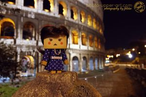 Lilly in the Eternal City by FeliDae84
