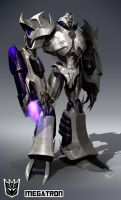 Megatron by Desoluz