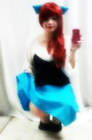 Blue Dress Ariel 2 by PockyBoxxProductions