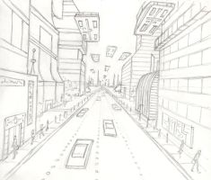 Future City Sketch by bschu