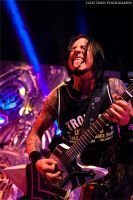 Jason Hook, Five Finger Death Punch by lizzys-photos