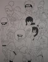 naruto characters 2 by crowshot27