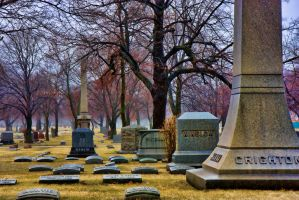 cemetery test 5 by lightzone