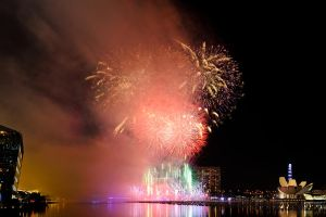 Hello 2012 fireworks by Shooter1970