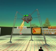 Second Life, War of the Worlds by Smegman9