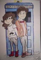 Doctor Who And MA SISTER :D by Edwards-daughterxoxo