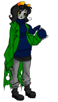 OLDER NEPETA or something idk by nico-doll