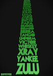 NATO Standard Phonetic Alphabet in 3D by DamisDesigns