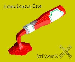 AmericanaOne 1 by incrediBRICK