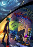 graffiti series 1 by bonolz