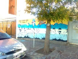Mi graffiti de un show mas 2 by ShinodaGE