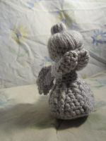 Crochet Weeping Angel MADE TO ORDER by CrochetHyperbole