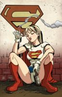 Naughty Supergirl by Ale Garza by VPizarro626