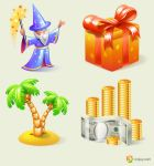 Free icons: Enjoyment by Andy3ds