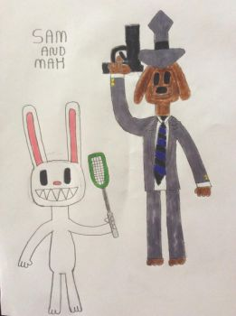 Sam And Max by DylanRosales