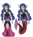 Sorceress of the Sea by FireEmber345