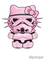 Kitty trooper by Titareco