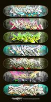 rapsick - graffreaks sk.deck type.2 by vastudio