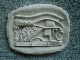 Omnipotence - The Eye of Ra, Wadjet by FireVerseCeramics