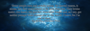 Ray Bradbury Quote by Lithestep