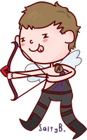 HAWKEYE by saladsalty