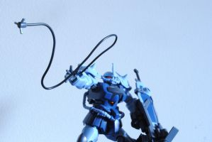 MS-07B-3 Gouf Custom by TheQuestionMarksKiss