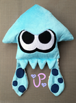 Turquoise Squid or a Turquoise Kid? by UltraPancake