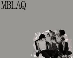MBLAQ wallpaper. by NiiaChaan