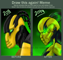 Meme  Before And After __Cyrax MK9 (wut?!) by TheDarkstarlduxd