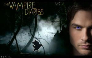 The Vampire Diaries - Damon by Reme-Arroyo