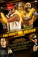 WFC The fight for arleigh benefit show flyer by Mohamed-Fahmy