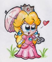 Oh Hay it's Peach. by MightyBiteySnake