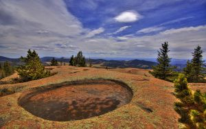 Pine Craters 2 by greenunderground