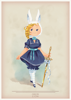 Victorian Time, Fionna by chicinlicin