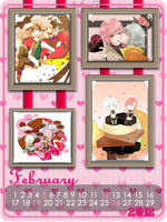 HopeLight Calendar_Feb 2012 by xXxAutumnRainxXx