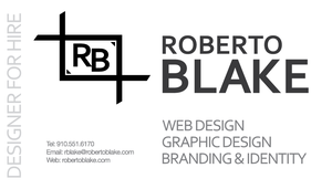 Roberto Blake Business Card 1A by OutlawRave