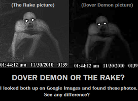 Dover Demon or The Rake? by KarateCat211