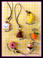 Kyoot Krap Charms 1 by HezaChan