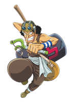 Usopp 01 by candycanecroft