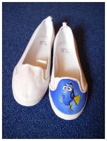 Finding Nemo - Shoes WiP1 by Kat-Art