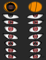 Naruto Eyes Study - Sharingan by Lu-So