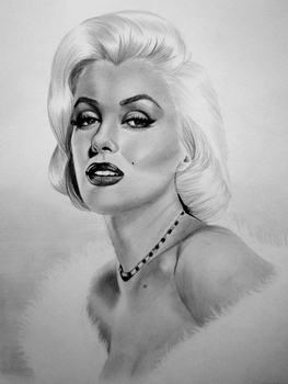 Marilyn Monroe by IK90