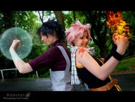 [Fairy Tail] 'Let's kick some asses!' by Bluemi-chan