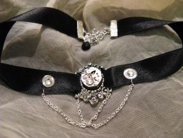 From the past-steampunk choker by Verope