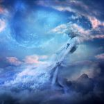 Head in the clouds by Brumae-Art