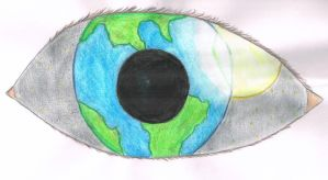 The world is in your eye by Sphenos