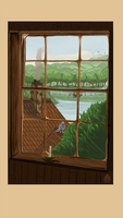 the view from the inn by wickedevilbunny