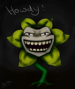 Flowey by Strange-Wonders