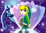 Toon Link in Fairy Fountain by Feather-Storm